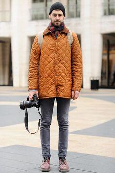 キルティングジャケット×ブラックジーンズ   No:67696   メンズファッションスナップ フリーク - 男の着こなし術は見て学べ。