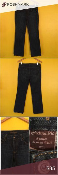 Ann Taylor modern fit boot cut jeans Ann Taylor modern fit boot cut jeans the tag says Lindsay waist.  Approximate Measurements: I: 29  W: 16  NWOT Ann Taylor Jeans Boot Cut