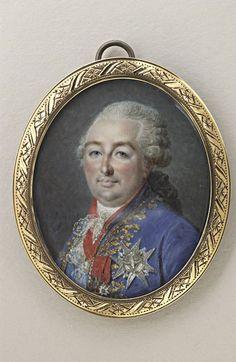 Portrait de Louis XVI, roi de France, en buste. Musée du Louvre, Département des Arts graphiques