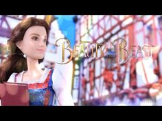 Unbox Daily: Beauty and the Beast Village Dress Belle & Enchanted Rose Scene - Doll Review - 4K - YouTube