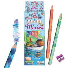 Eeboo Mixies Colored Pencils
