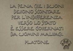 Platone - a pena che..