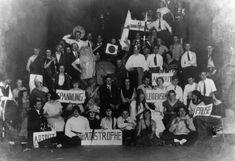 Bauhaus Party at the Gaststätte Ilmschlösschen Tavern near Weimar on 29 November 1924