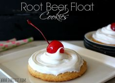 ~Root Beer Float Cookies!