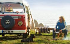 For the writer and surfer Martin Dorey, summer means packing up his camper van and heading for the coast to forage for mussels and wild garlic.