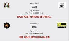Los invitamos a todos a presenciar las finales de la Liga de Iron Man 3x3 Mixto 2016 que se realizarán hoy en Peru Beach Roller Hockey Arena. - http://ift.tt/1HQJd81