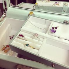 Jewellery box dreams  featuring @dulwichstyle double layered duck egg jewellery box and our beautiful gemstones #platinum #diamond #emerald #sapphire #ruby #handmade #jewellery #diamondjewellery #gold #berkhamsted #hertfordshire #london #watch #luxury #england #engagementring #wedding #weddingring #baileyandsons #raymondweil #frederiqueconstant #tissot #clogau #bespokejewellery #pendant #ring #bracelet #earrings