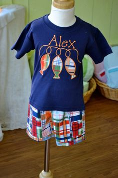 Applique kids clothes
