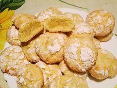 Raccontare un paese: Le mie ricette: biscotti con pasta di cedro