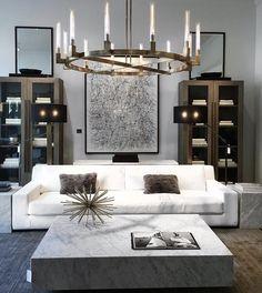 Restoration Hardware, Couch, Furniture, Home Decor, Settee, Decoration Home, Sofa, Room Decor, Home Furnishings