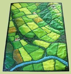 Farm fields quilt