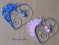*Wired Hearts For Pendant Necklace - inspiration