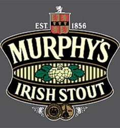 Murphy's Irish Stout is imported from Ireland. It employs a top fermentation brewing method, using a dark roasted barley malt, with no added preservatives. English Beer, Beer Types, Irish Drinks, Best Craft Beers, Beer Store, Old Irish, Beers Of The World, Drink Signs, Pub Signs