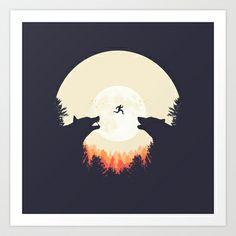 Runaway Art Print by Filiskun - $18.00
