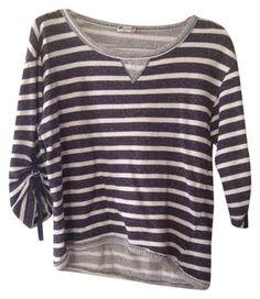 Chic and Comfy KUT from the Kloth Striped Top