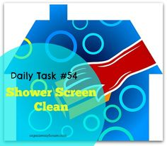 Daily Task 54 - Shower Screen Clean