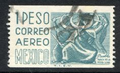 Mexico Air Post Stamp Scott C349 Used | eBay