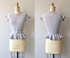 Sooo cute and wearable! --- Minerale sweater vintage 1950s sweater boucle wool by DearGolden