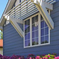 Pergola Attached To House Plans Code: 4804669893