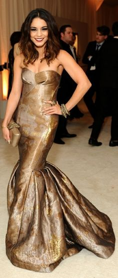 Vanessa Hudgens - Elton John AIDS Foundation viewing party @ 2014 Oscars. (2014)