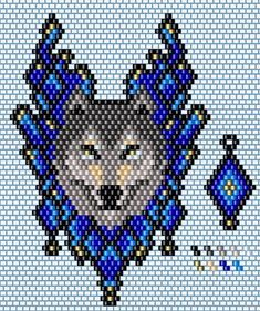 might make a nice medallion Native Beading Patterns, Beaded Earrings Patterns, Native Beadwork, Bead Loom Patterns, Peyote Patterns, Bead Earrings, Bracelet Patterns, Beaded Banners, Beading Projects