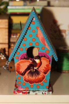 www.babbelzzz.punt.nl Vogelhuisje / Birdhouse