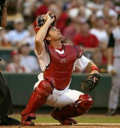The great catcher, Mike Matheny