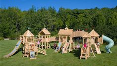 WOW!! outdoor-kids-playset-design