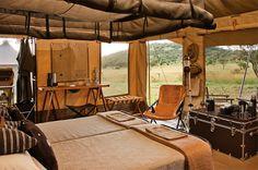 Singita Explore Mobile Tented Camp: return to the very essence of safari   Luxury Hotels Travel+Style