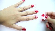 Cómo quitar el esmalte de uñas sin quitaesmalte