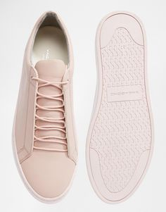 Vagabond Zoe Leather Pale Pink Trainers