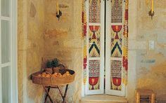 Turkish Designed Colorful Shutter Doors