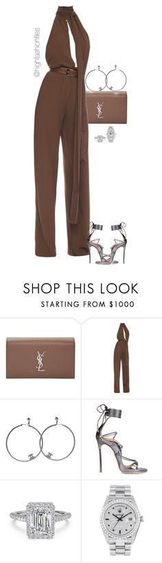 """Untitled #2765"" by highfashionfiles ❤ liked on Polyvore featuring Yves Saint Laurent, Michael Kors, Chanel, Dsquared2 and Rolex"