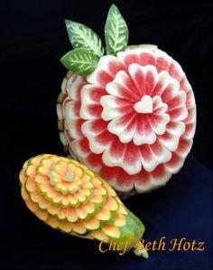 esculturas com frutas - Pesquisa Google