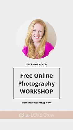 If you'd love to be able to take gorgeous photos of your families milestones and memories... but you're sick of feeling frustrated with your camera ... this free Photography workshop is for you! Click Love Grow - Photography Tips and Tutorials Newborn Photography Tips, Photography Tips For Beginners, Photography Lessons, Free Photography, Photography Workshops, Photography Business, Photography Tutorials, Children Photography, Amazing Photography