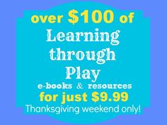 $100 0f play resources for $9.99