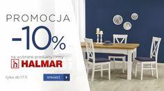 - 10% na wybr ane meble firmy Halmar tylko do 17 listopada. Kliknij i sprawdź