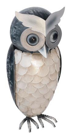 Standing Owl  Pinned by www.myowlbarn.com