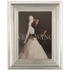 BuyVera Wang for Wedgwood With Love Photo Frame, H18cm Online at johnlewis.com