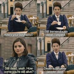 Missy, Clara, Doctor Who
