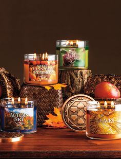 It smells like FALL! #welovefall