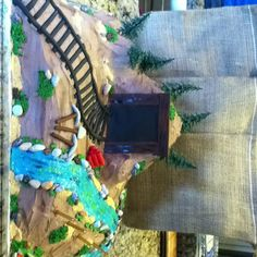 Gold Mining cake-Kyler would love this!