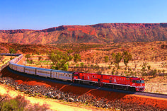 Exploring the wonderful land down under on board The Ghan train is a unique experience that should be enjoyed at least once in a lifetime.