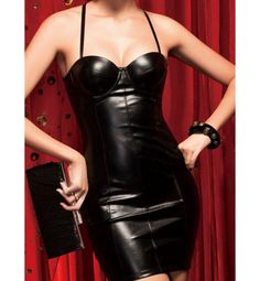 Black Vinyl Mini Dress Get Superb Saving discounts at Flirty Lingerie with Coupon and Promo Codes.