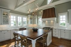 JacksonBuilt Custom Homes - traditional - kitchen - charleston - JacksonBuilt Custom Homes