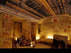 Tomb of Ramses VI - Valley of the Kings.