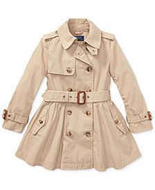 Ralph Lauren Little Girl's & Trench Coat - Beige 3 Dresses Kids Girl, Girl Outfits, Simple Outfits For School, Girls Trench Coat, Ralph Lauren Kids, Kids Fashion, Ebay, Beige, Cotton