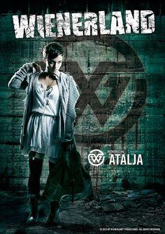 Atalja - Wienerland Movies, Movie Posters, Fictional Characters, Films, Film Poster, Cinema, Movie, Film, Fantasy Characters