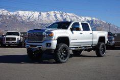 Diesel Trucks, Chevy Trucks, Gmc Denali Truck, Denali Hd, Custom Lifted Trucks, Used Trucks For Sale, Gmc 2500, Custom Wheels And Tires, Gmc Sierra 2500hd