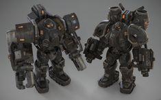 Dope Cartoons, Dope Cartoon Art, Big Robots, Starcraft 2, Stars Craft, Gamers, Drawing Skills, The Marauders, Sci Fi Art